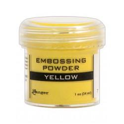 Reljeeftrüki pulber kollane (kuum embossing)