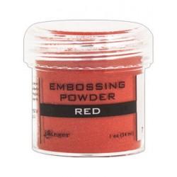 Reljeeftrüki pulber punane (kuum embossing)
