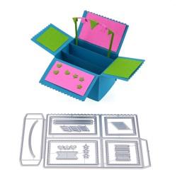 3D kast/kaart