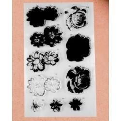 Templite komplekt kihiliste lillede valmistamiseks