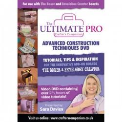 Crafter's Companion Ultimate Advanced DVD erinevate esemete valmistamise õpetusega