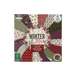 First Edition 15x15 cm paberiplokk - Winter Rose