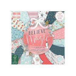 First Edition 15x15 cm paberiplokk - Believe In Magic